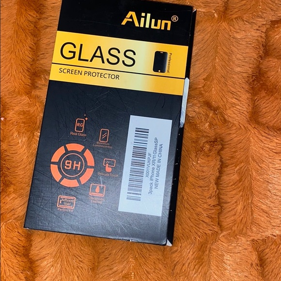 three glass phone screen protector
